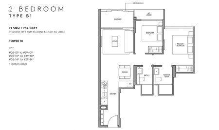 B1 - 2 Bedroom