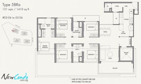 5BRa: 5 Bedroom