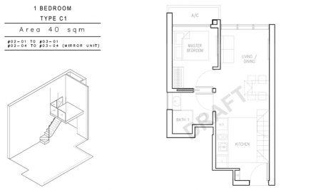 C1 - 1 Bedroom