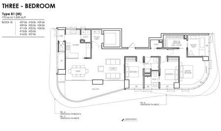 B1 (M) - 3 Bedroom