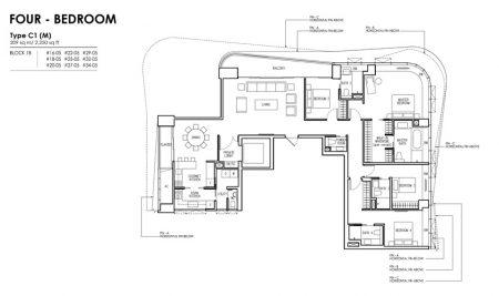 C1 (M) - 4 Bedroom