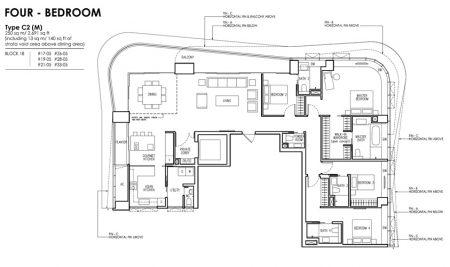 C2 (M) - 4 Bedroom