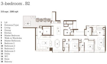 B2 - 3 Bedroom