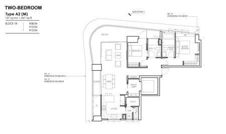 A2 (M) - 2 Bedroom