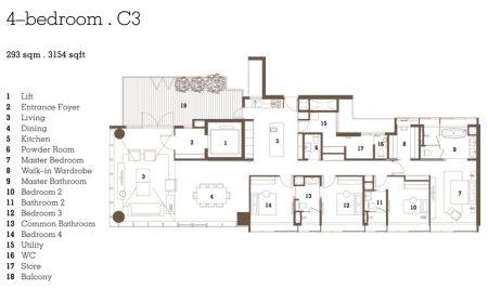 C3 - 4 Bedroom