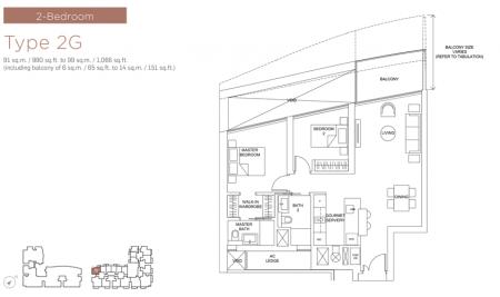 2G - 2 Bedroom
