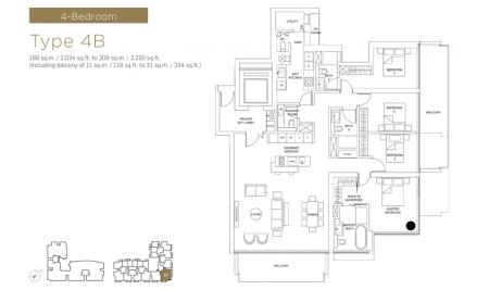 4B - 4 Bedroom