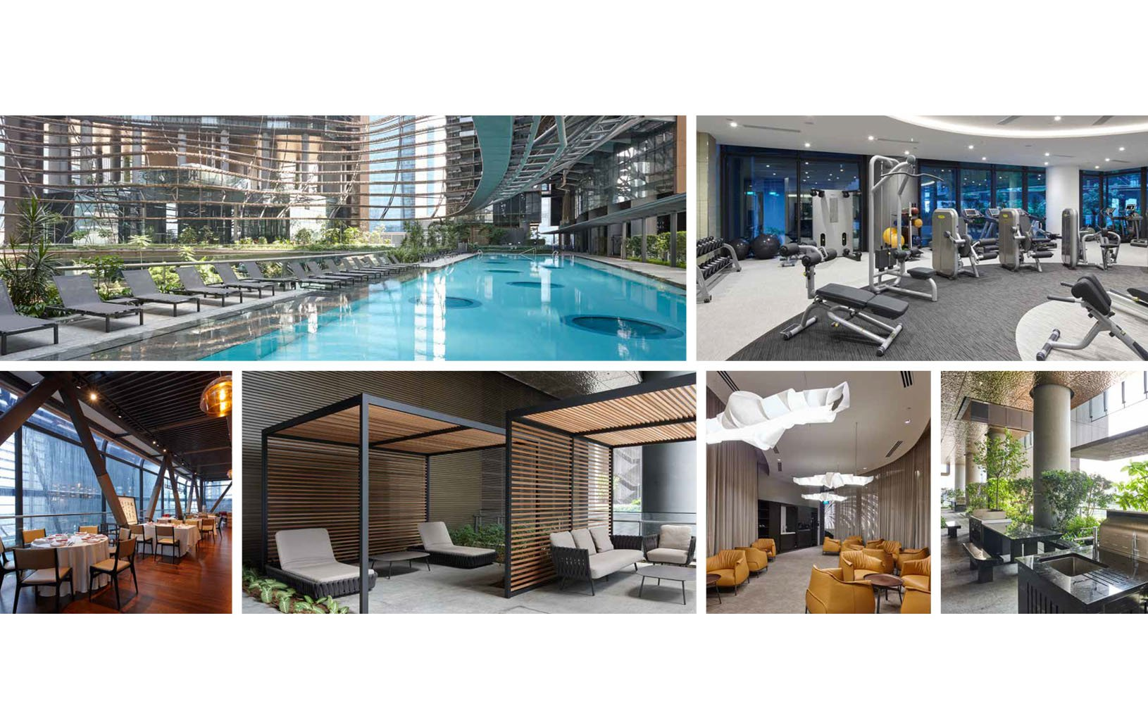 Marina One Residences Facilities