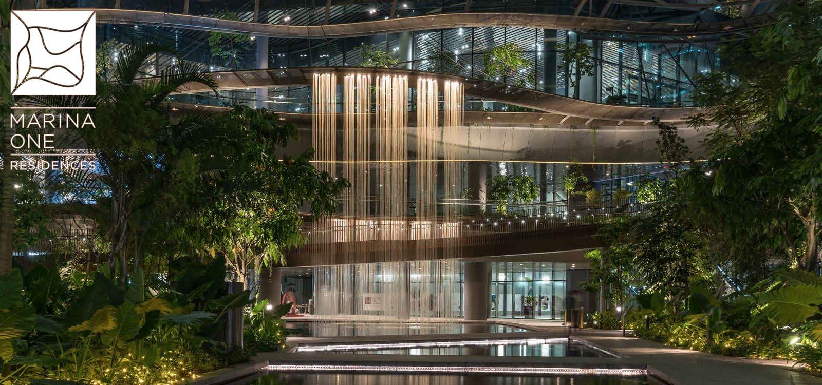 Marina One Residences Landscape