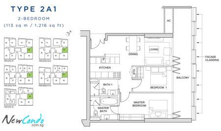 2A1: 2 Bedroom
