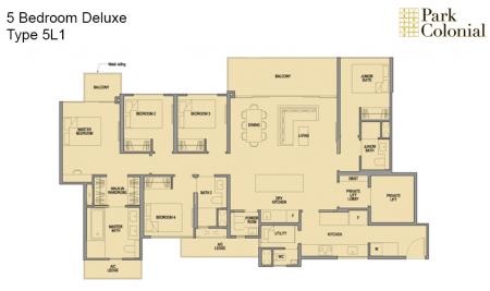 5L1 - 5BR Luxury