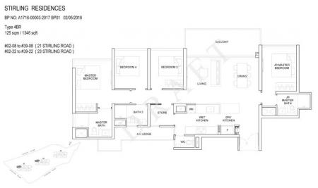 4BR: 4 Bedroom
