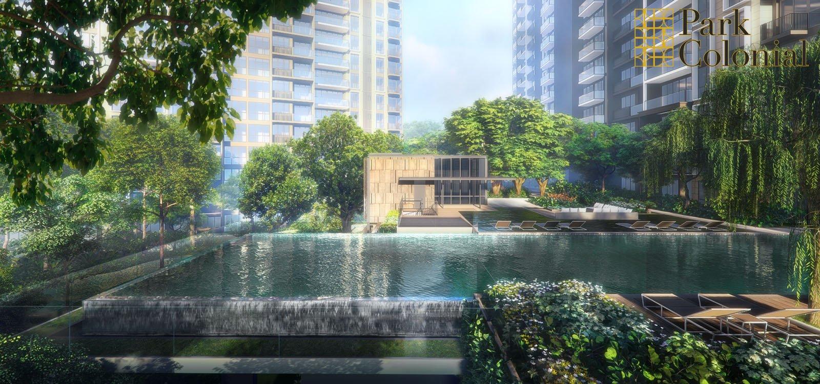 Park Colonial Lap Pool