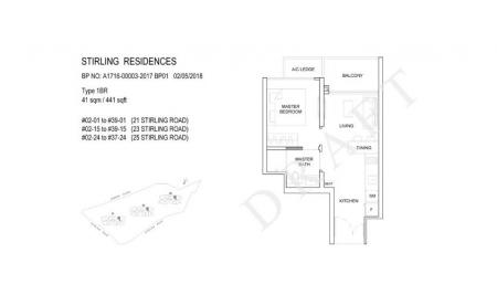 1BR: 1 Bedroom