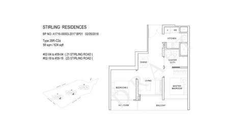 2BR-C2a: 2 Bedroom