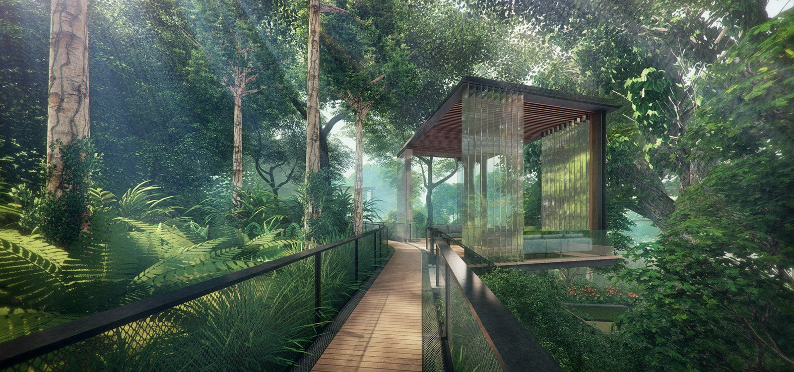 Stirling Residences Forest Trail