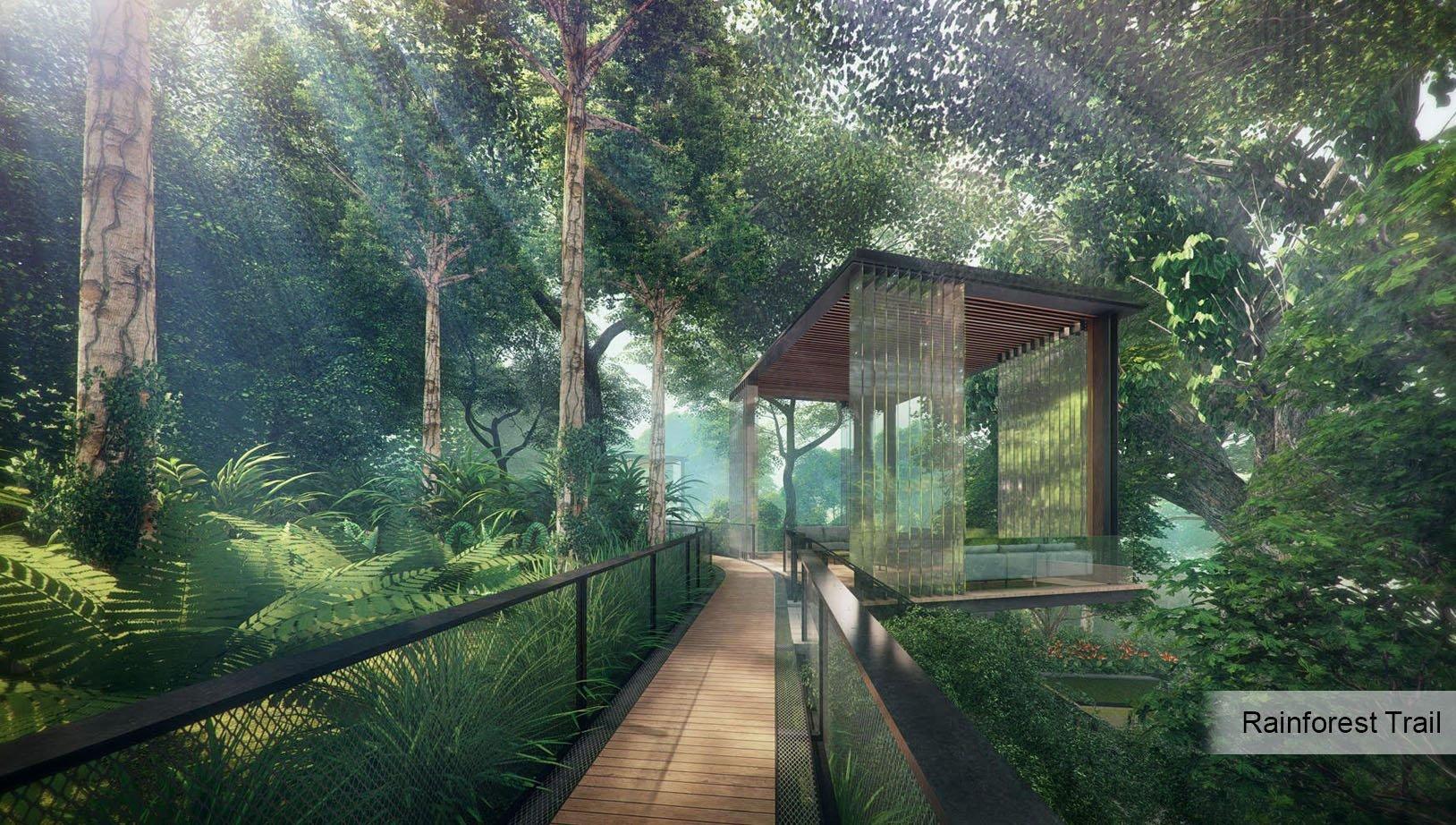 Stirling Residences Rainforest Trail
