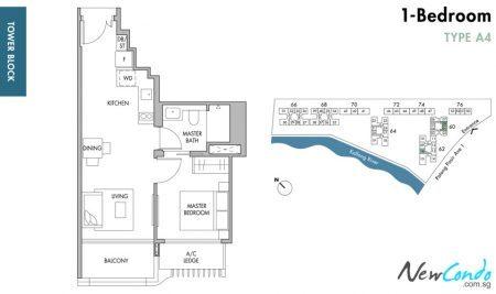 A4: 1 Bedroom