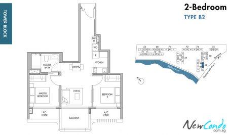 B2: 2 Bedroom