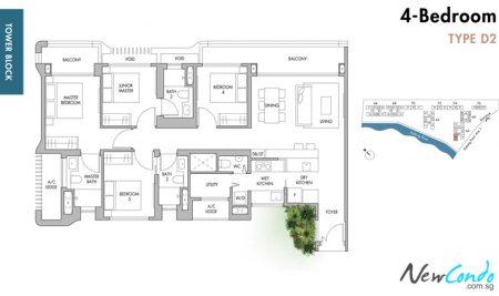 D2: 4 Bedroom