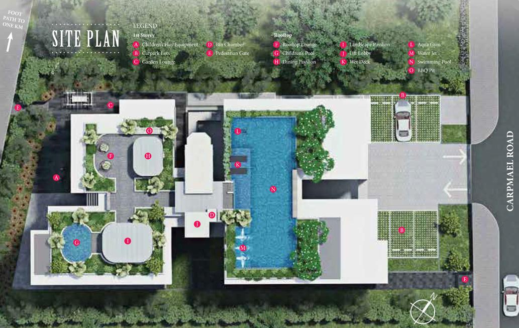 Carpmael Thirty-Eight Facilities Site Plan
