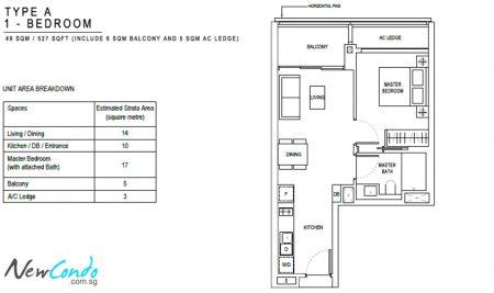 A: 1 Bedroom