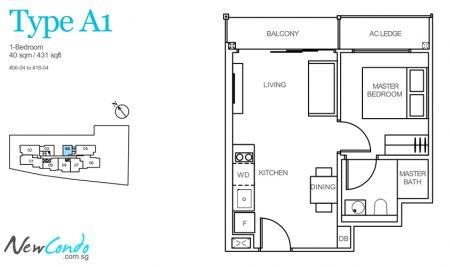 A1 - 1 Bedroom