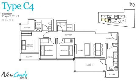 C4 - 4 Bedroom