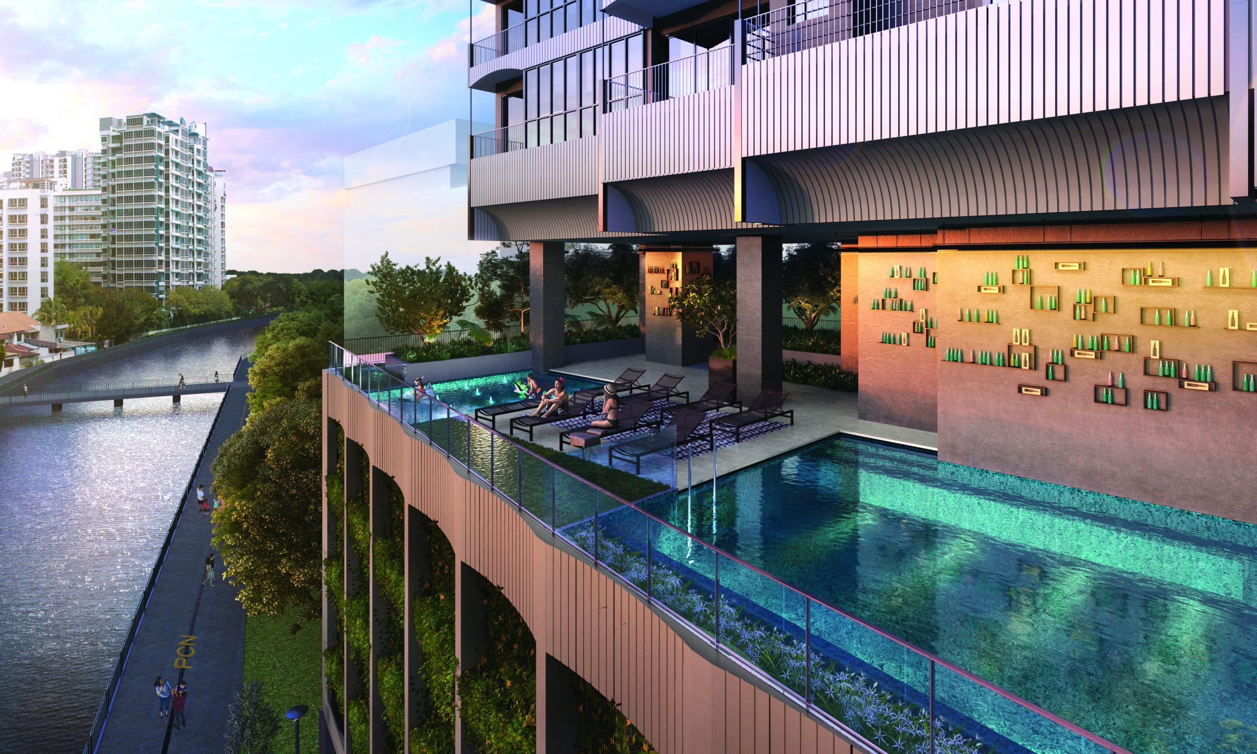 Pool Landscape View