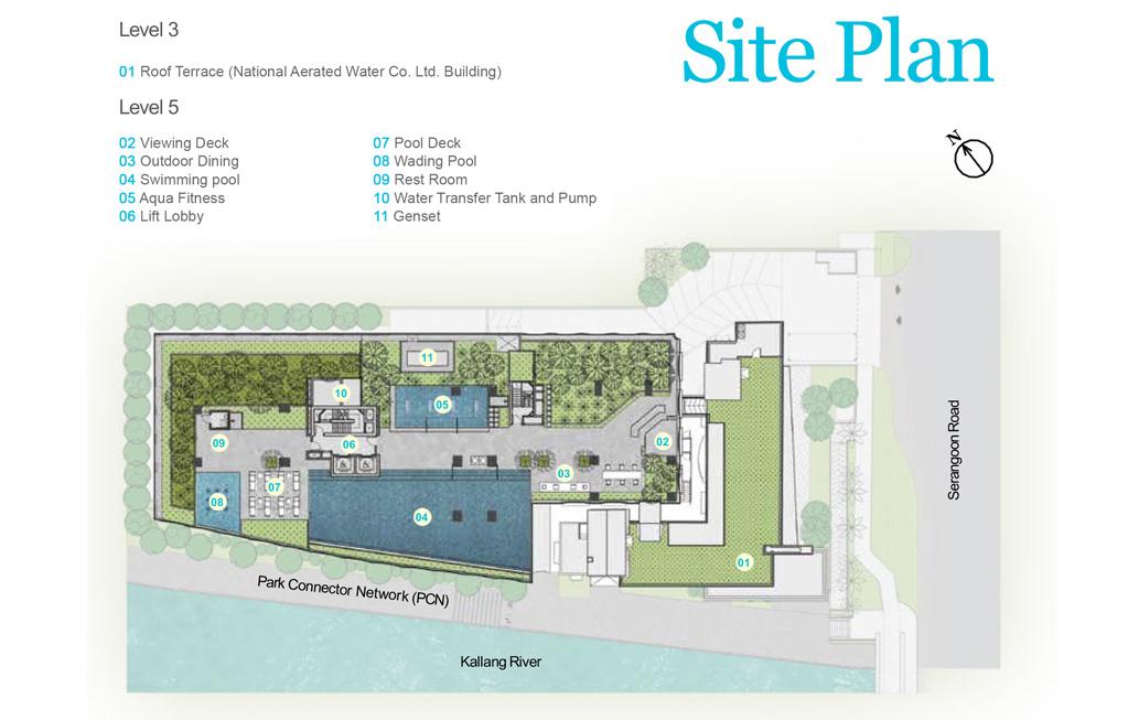 Jui Residences Site Plan