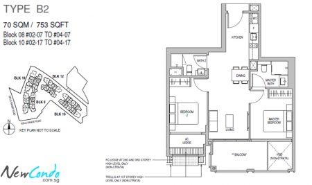 B2 - 2 Bedroom