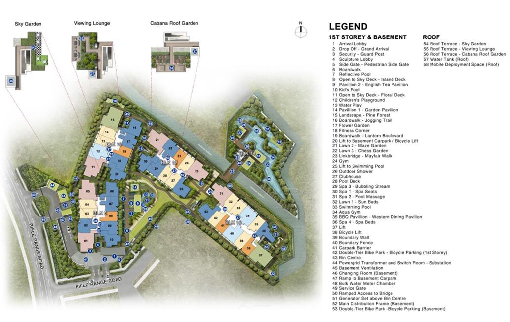 Mayfair Gardens Facilities Site Plan