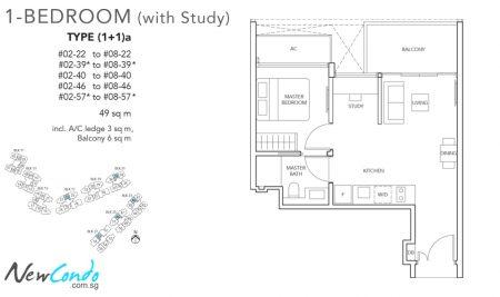 1+1a - 1 + Study