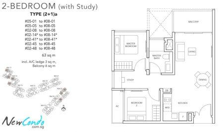2+1a - 2 + Study