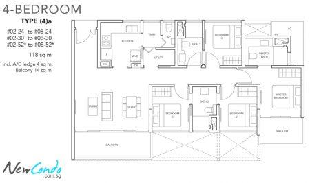 4a - 4 Bedroom