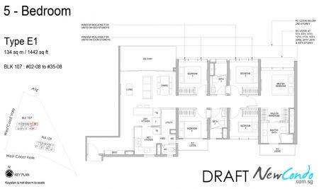 E1 - 5 Bedroom