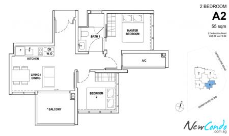 A2 - 2 Bedroom