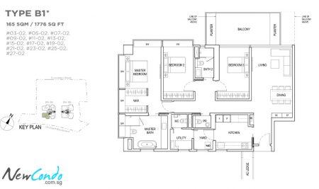 B1 - 3 Bedroom