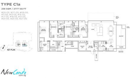 C1a - 4 Bedroom