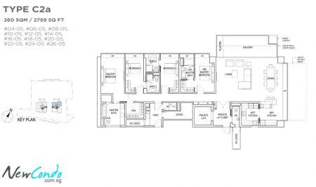 C2a - 4 Bedroom