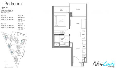 A1a - 1 Bedroom