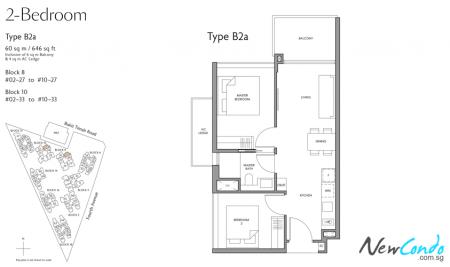 B2a - 2 Bedroom