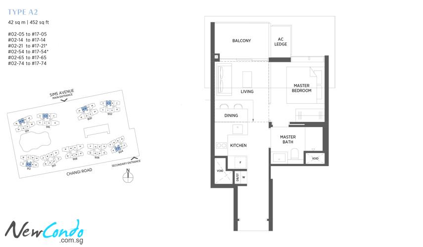 A2 - 1 Bedroom