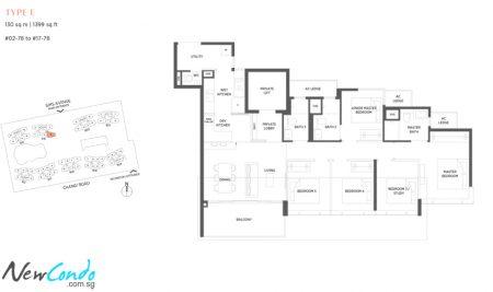 E - 5 Bedroom