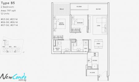 B5 - 2 Bedroom