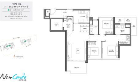 C5 - 3 Bedroom