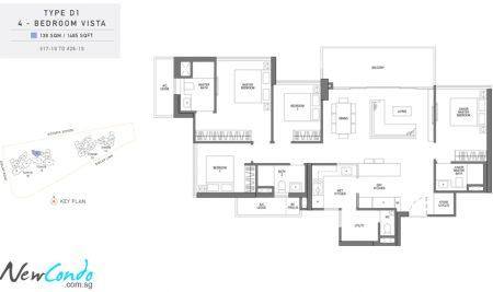 D1 - 4 Bedroom