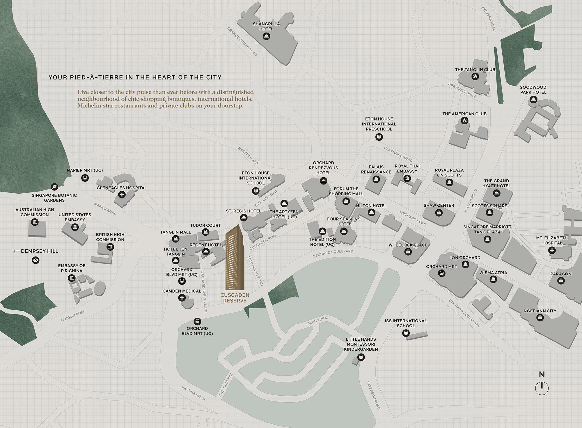 w-condo-singapore-cuscaden-reserve-location-map