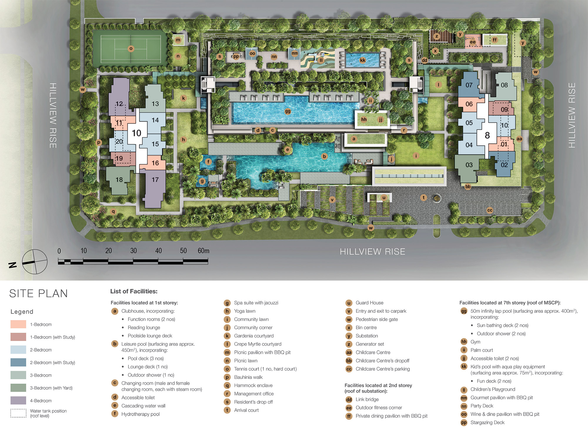 new-condo-singapore-midwood-site-plan