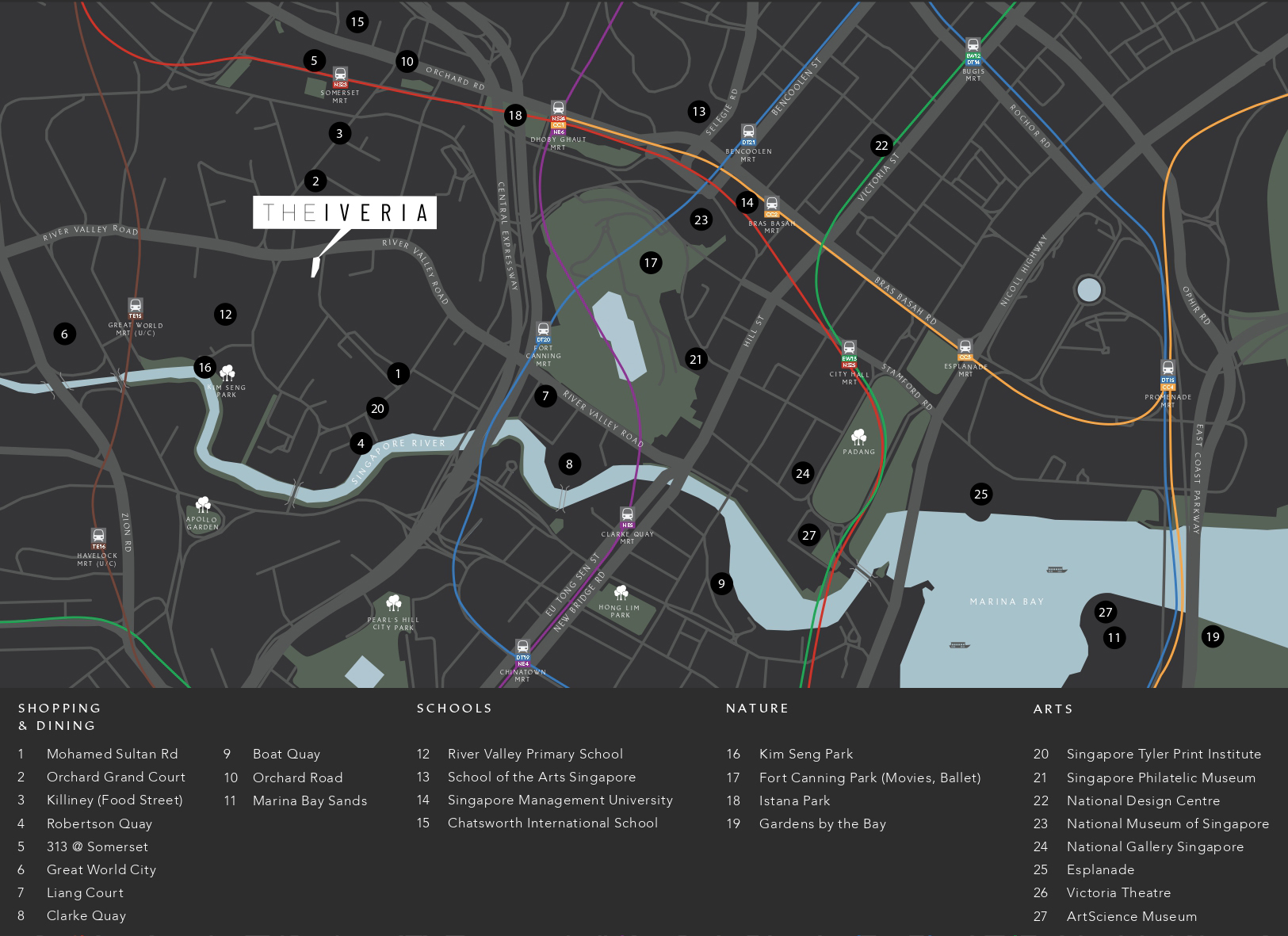 new-condo-singapore-the-iveria-location-map